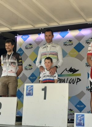 Jérémy Mounier champion du monde en VTT cross-country